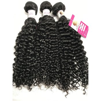 100% Unprocessed Virgin Peruvian Hair Natural Curly Hair Extensions with Lace Frontal