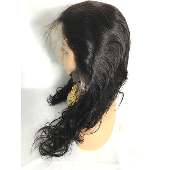 Top Quality 13x4 Frontal Lace Wig Body Wave Virgin Human Hair Lace Front Wigs